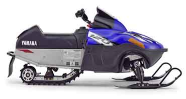 Arctic Cat-built Yamaha 120 snowmobile