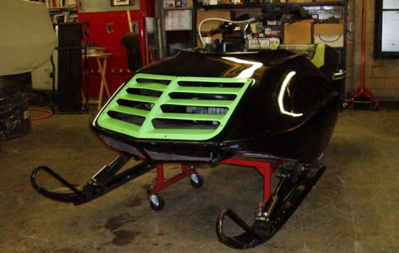 1975 Arctic Cat Factory Oval Sled on eBay