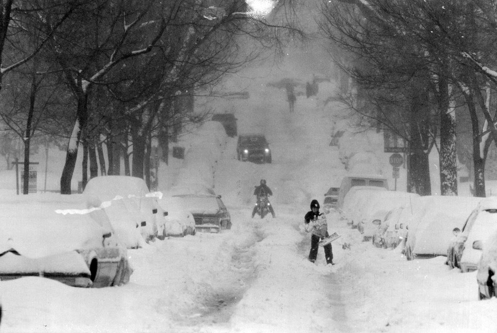 Halloween Blizzard of 1991.