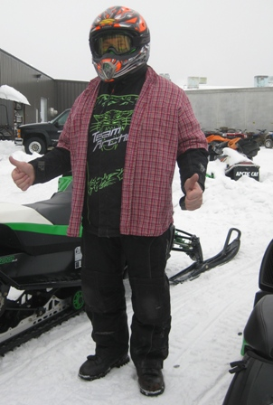 Arctic Cat VP of Engineering, Roger Skime
