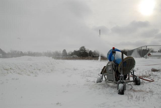 CBR Making Snow