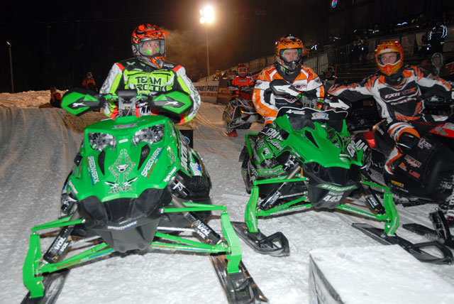 Cody Thomsen (left) and Logan Christian went 1-2 in Semi Pro Open