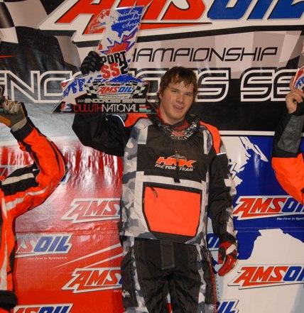 Andrew Carlson won Sport Stock
