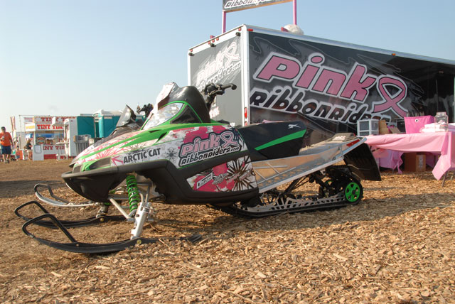 Pink Ribbon Riders Arctic Cat Crossfire