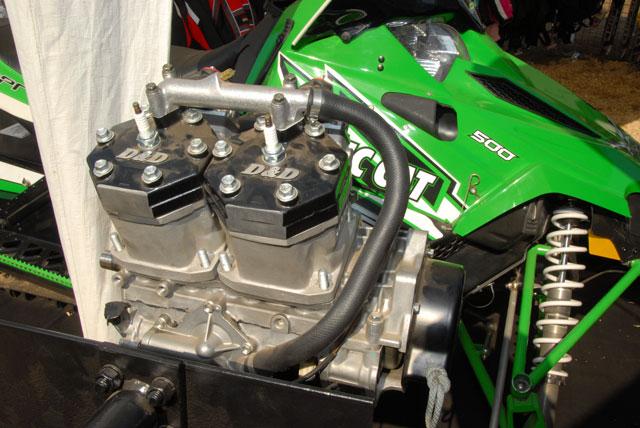 D&D 720cc Kit for the Sno Pro 500