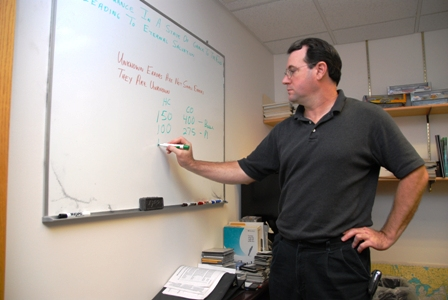 Emissions master Glen Martin