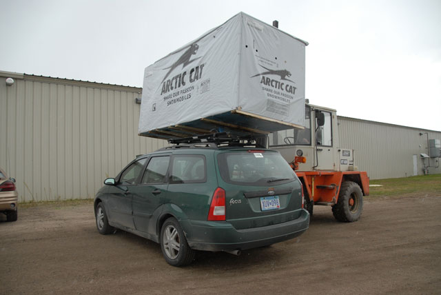 Loading the ArcticInsider Factory Wagon