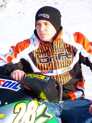 P.J. sporting the DRIFT line of gear