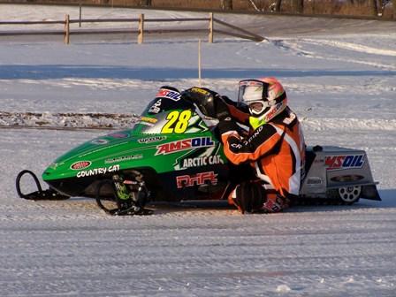 P.J. Wanderscheid, Team Arctic Oval racer