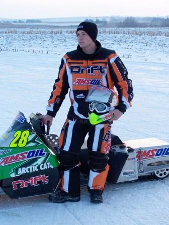 Team Arctic oval racer, P.J. Wandersheid