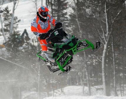 Arctic Cat/Sportech racer Johan Lidman of Sweden