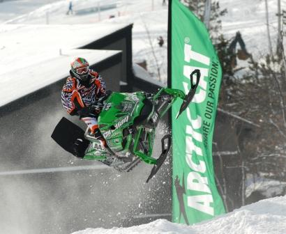 Logan Christian is now a Pro on the Arctic Cat/CBR team