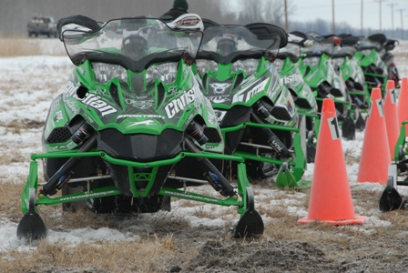 An all-Arctic Cat top 10 seemed possible.
