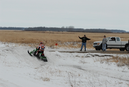 D.J. Ekre, Arctic Cat cross-country ace