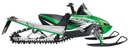 2011 Arctic Cat M8 HCR...this is what the hillclimbers will race NEXT year.