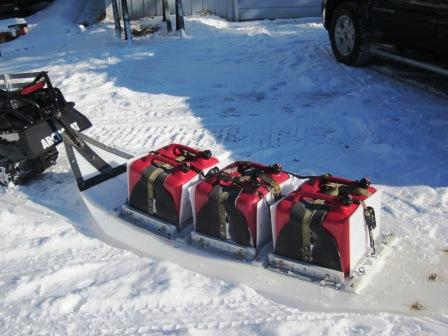 Custom fuel sleigh