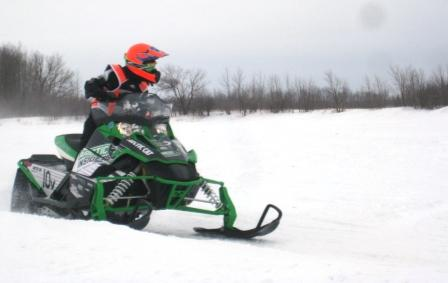 Cal on the ArcticInsider sponsored Sno Pro...sweet!