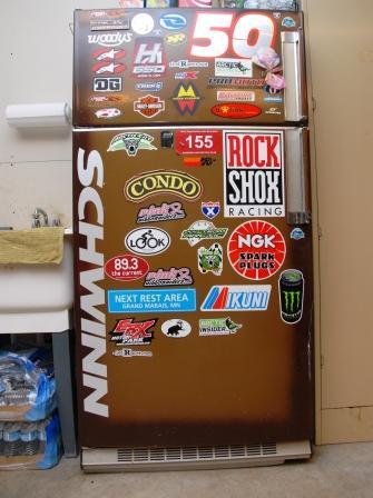 My shop fridge