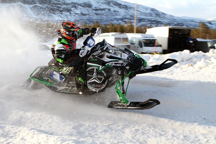 Arctic Cat's Magnus Lindback, European Champion