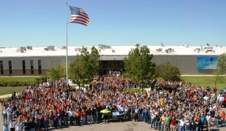 Arctic Cat employees at the 1 Millionth Celebration