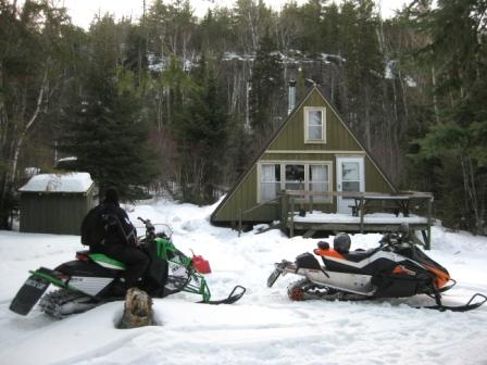 The family cabin on North Fowl Lake