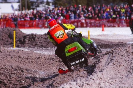 Blair Superman Morgan at West Yellowstone in 1998