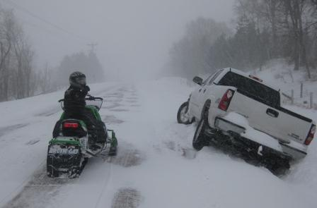 Oops, that's the ditch