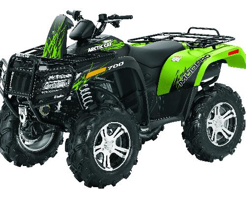 2012 Arctic Cat 700i MudPro with EPS