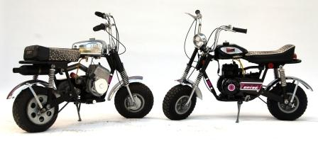 Arctic Cat minibikes from the Tom Rowland Collection