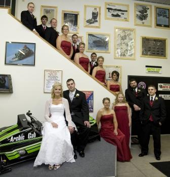 Johnson family and their Arctic Cat collection