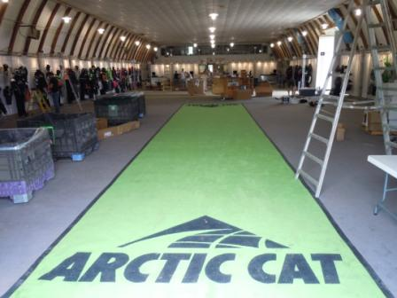 Arctic Cat Pre-50th Report from Bobby Flame