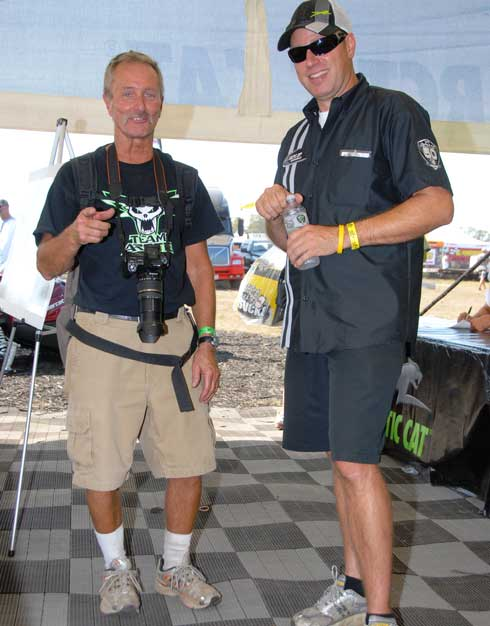 Team Arctic's Doug Oster and Mike Kloety