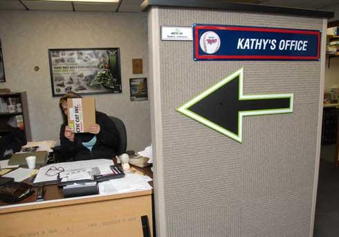 Where's Kathy?