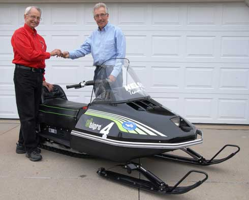 Nelson-built Arctic Cat El Tigre Cross-Country for SHOF Raffle