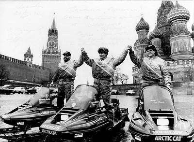 Arctic Cat-sponsored Minnesota-to-Moscow Expedition