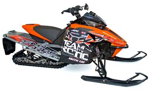 2012 Team Arctic Graphics Kit from Arctic Cat