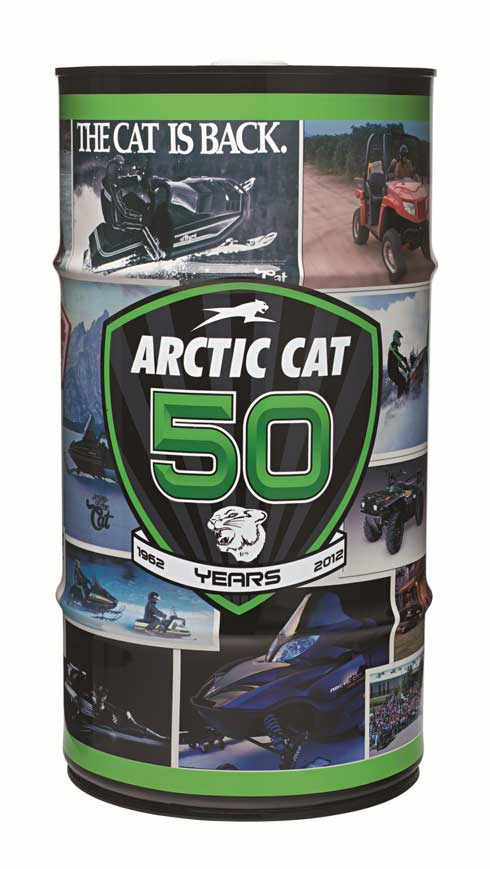 50th Anniversary Oil Drum from Arctic Cat