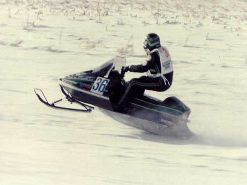 "Joey Hallstrom of Arctic Cat, during his ""young"" period of life"
