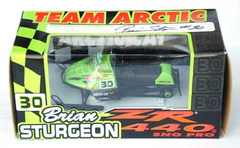 Brian Sturgeon model Arctic Cat ZR 440
