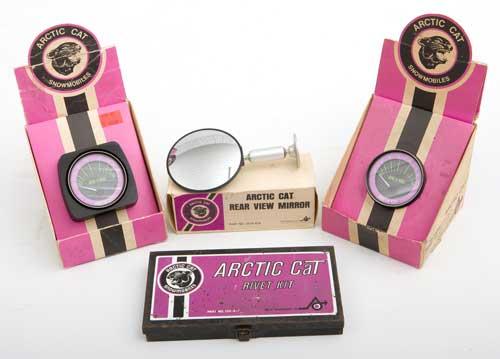Ische family collection of Arctic Cat memorabilia