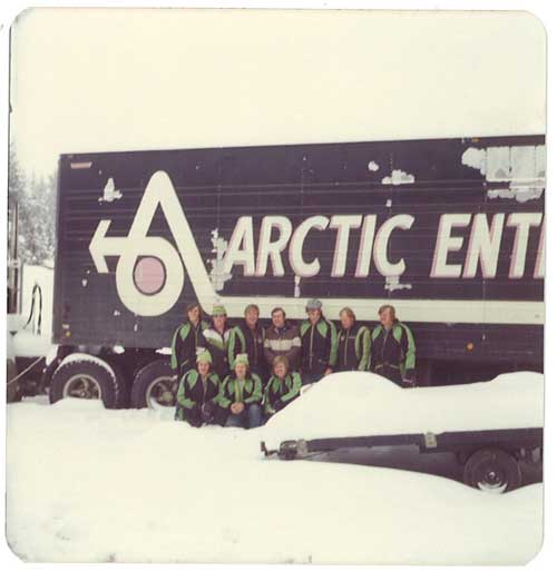 Arctic Cat Test Crew circa 1973-74