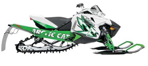 2012 Arctic Cat Sno Pro 600 race sled