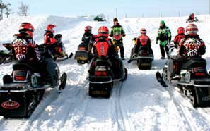 ERX Learn-2-Ride Snocross Clinic