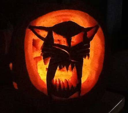 Arctic Cat Pumpkin from Jarred Zimmer