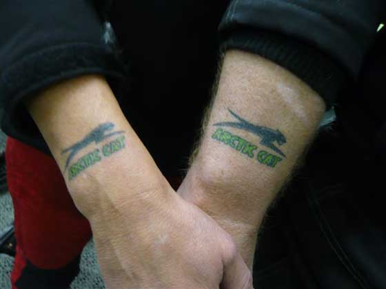 Arctic Cat tattoo