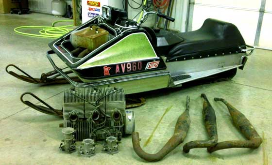 1971 Arctic Cat King Kat Barn Find