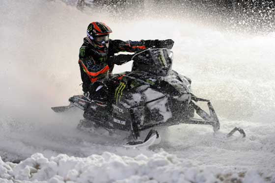 Team Arctic Cat/Monster Energy superstar, Tucker Hibbert