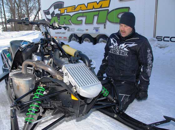 Kevin Thompson, Arctic Cat Engineer