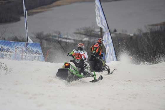Team Arctic's Dan Ebert and Tucker Hibbert at Duluth