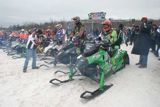 Team Arctic's season opener at Duluth